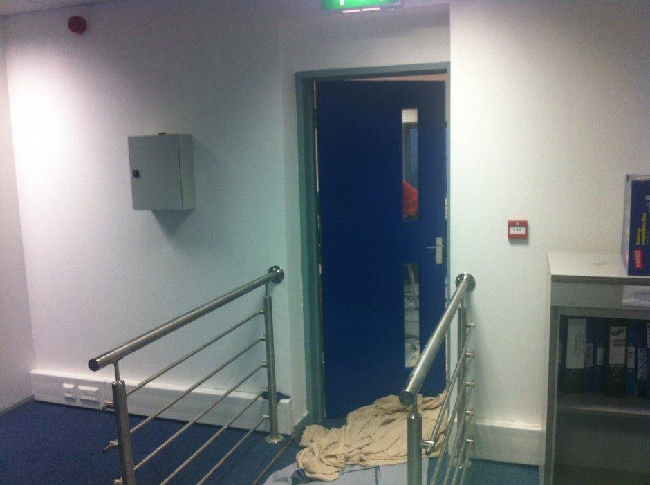Fitting Fire Doors - RWS Ltd