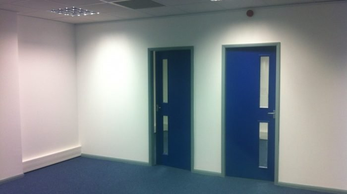 Fitting Fire Doors - RWS Ltd