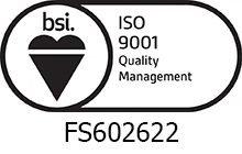 BSI Assurance Mark ISO 9001 KEYB - RWS