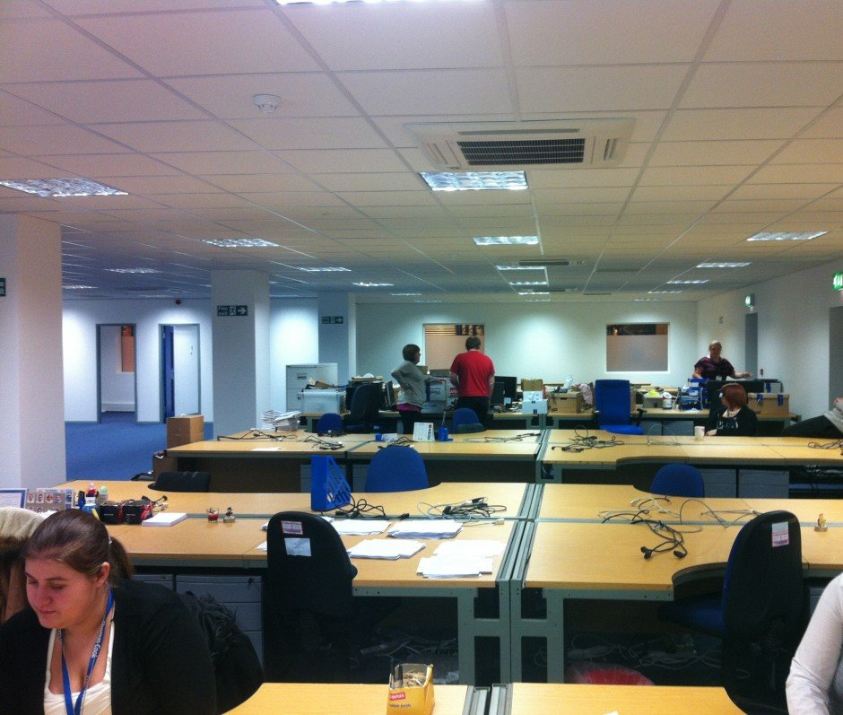 Rapid relocation Refurbishment - RWS Ltd