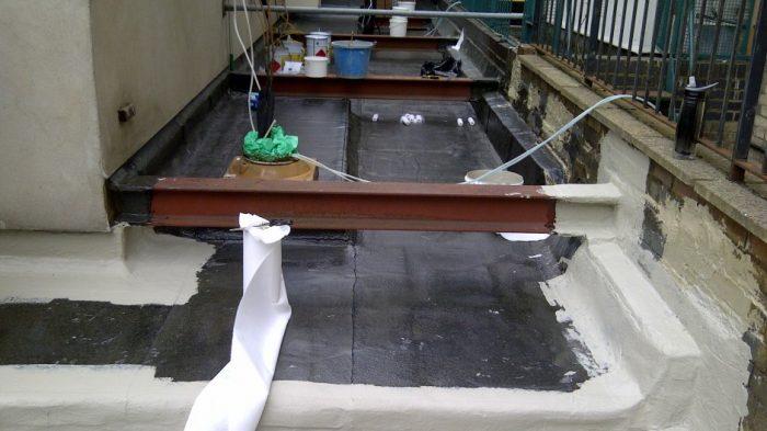 liquid applied flat roof before www.rwsltd.co.uk