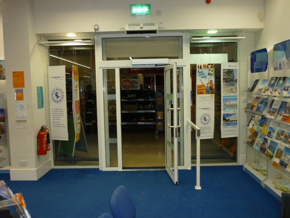 Aluminium doorset by RWS LTD 01733 351136