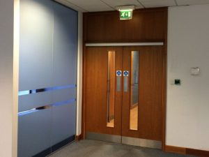 fitting fire doors on new builds , fire doors, fire door installation, fire door , fd30, fd30sc , fire door installation