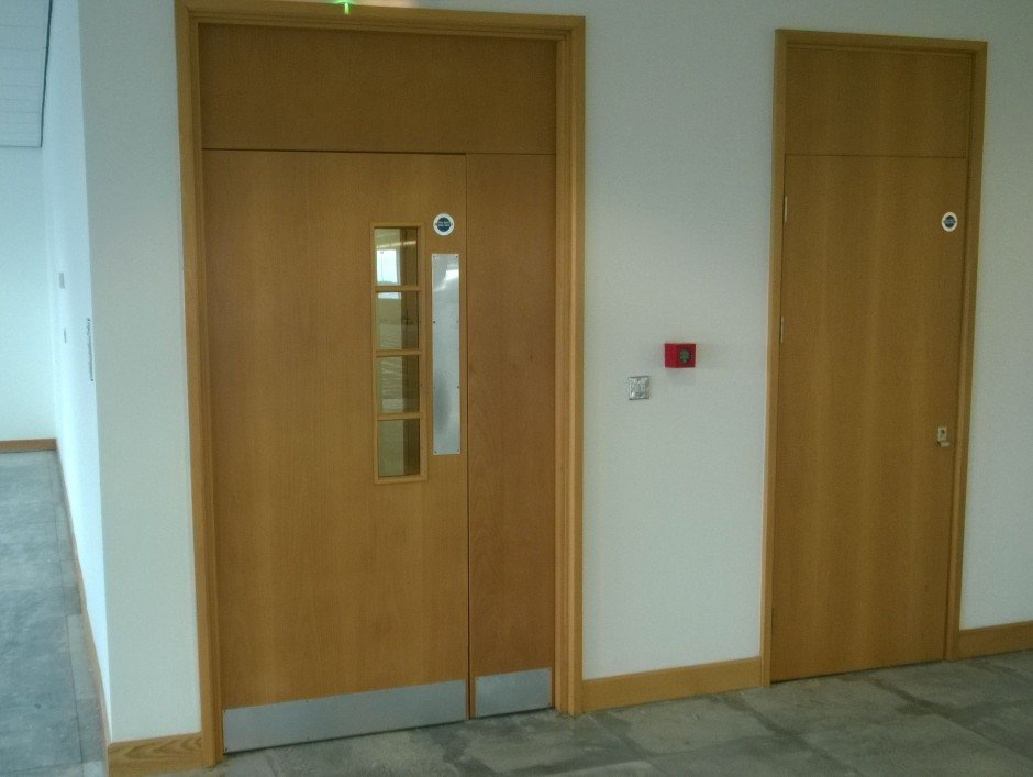 Whilst fitting fire doors check & Fitting Fire Doors