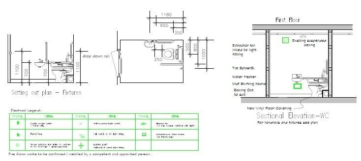Disabled toilet - RWS Ltd