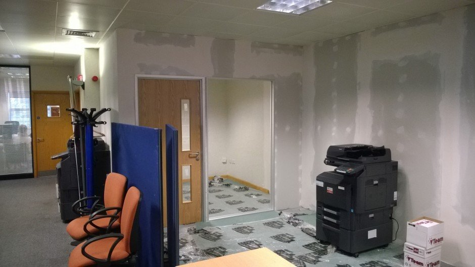 Office refit and refurbishment