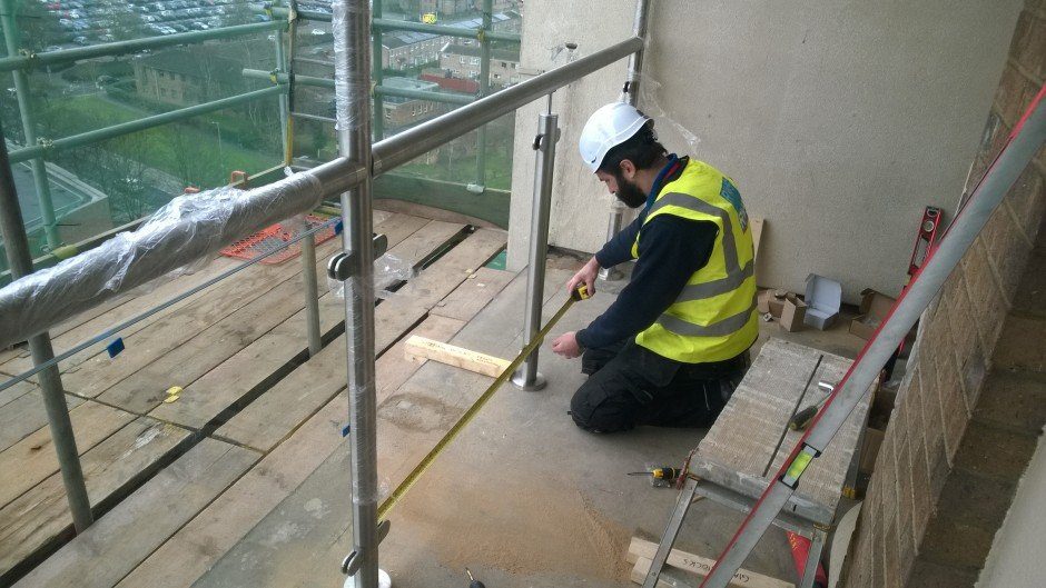design and install stainless steel balustrades