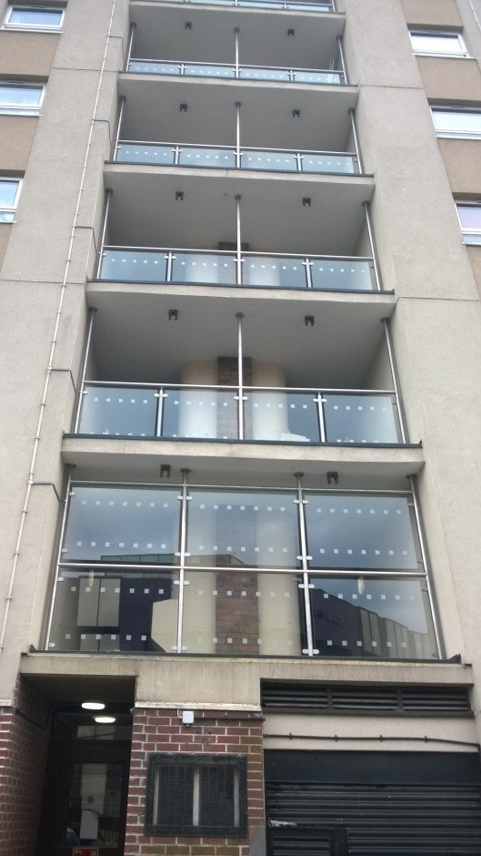 Stainless steel balustrade design and installation - RWS Ltd